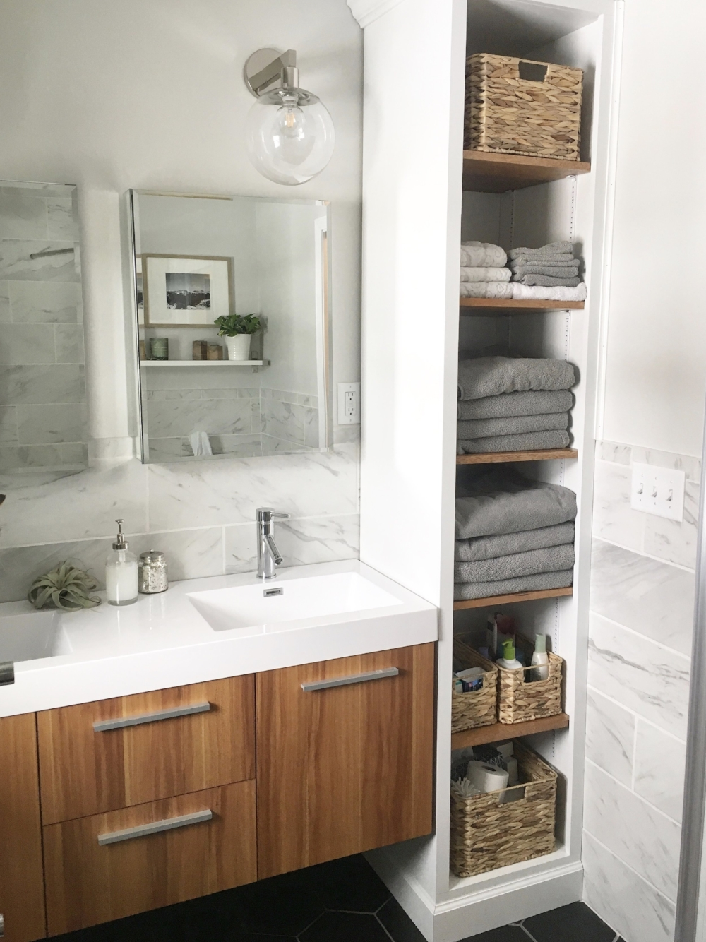 Master Bathroom: Our Fifties Fixer Upper