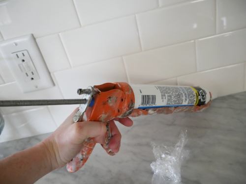 How to Caulk Trim and Tile