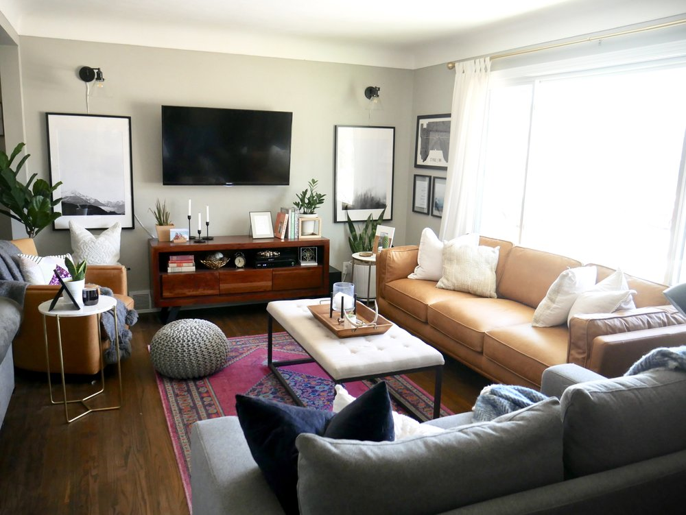 Our Fifties Fixer Upper Living Room Sources