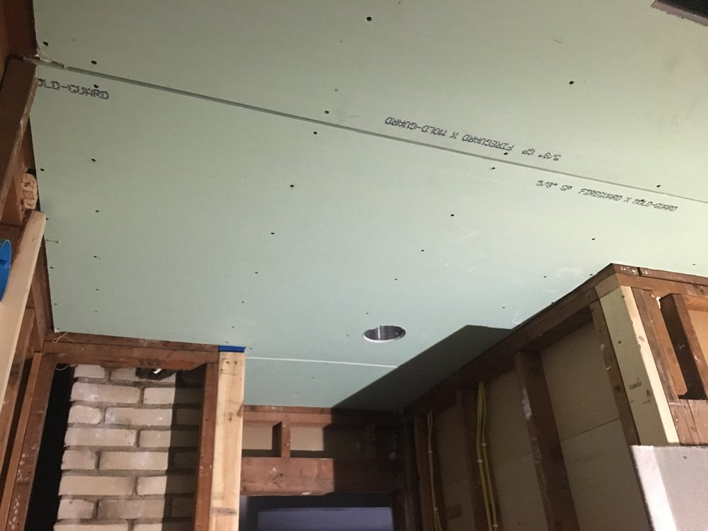 Drywall contraption: Our Fifties Fixer Upper Week 4
