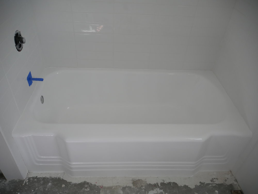 tub refinishing | Our Fifties Fixer Upper