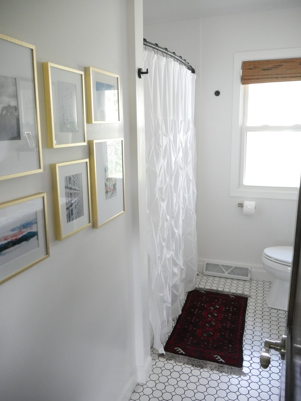 Our Fifties Fixer Upper Hallway Bathroom