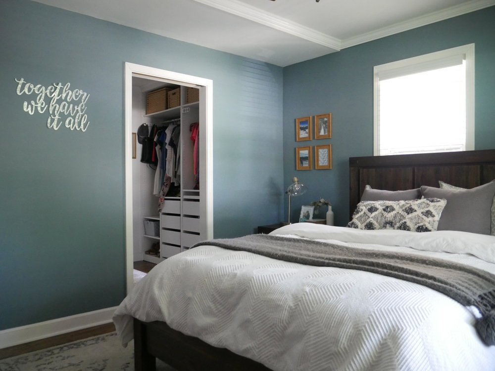 Our Fifties Fixer Upper Master Bedroom