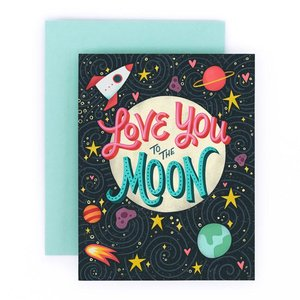 Greeting cards home again creative to the moon greeting card a2 gc046g m4hsunfo