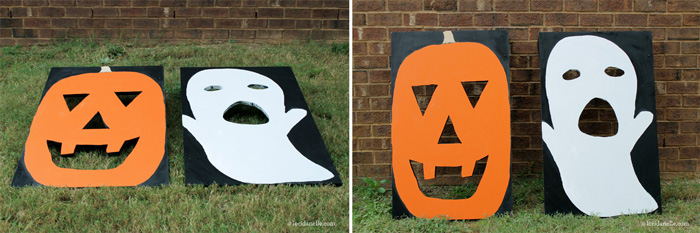 Diy Fall Carnival Bean Bag Toss Home Again Creative