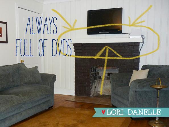 Diy Lockers As Dvd Storage Home Again Creative