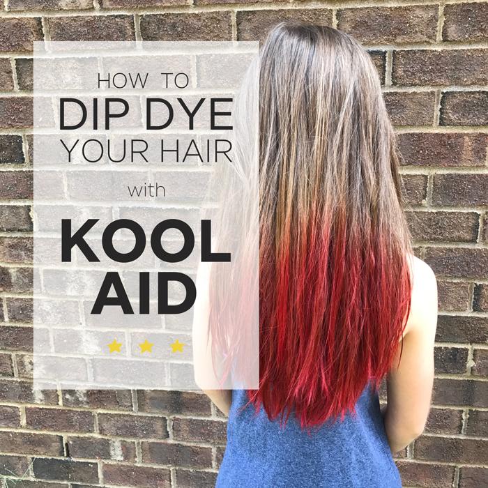 Kool-Aid Hair Dye — Home Again Creative
