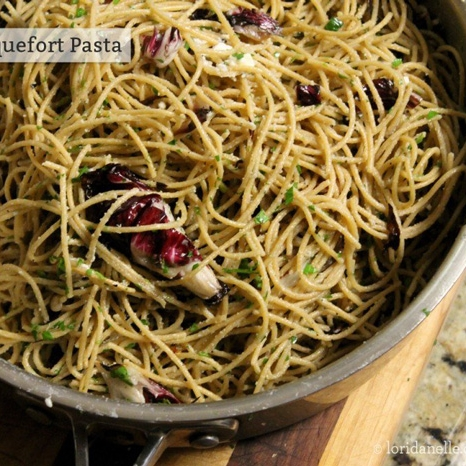 Radicchio and Roquefort Pasta