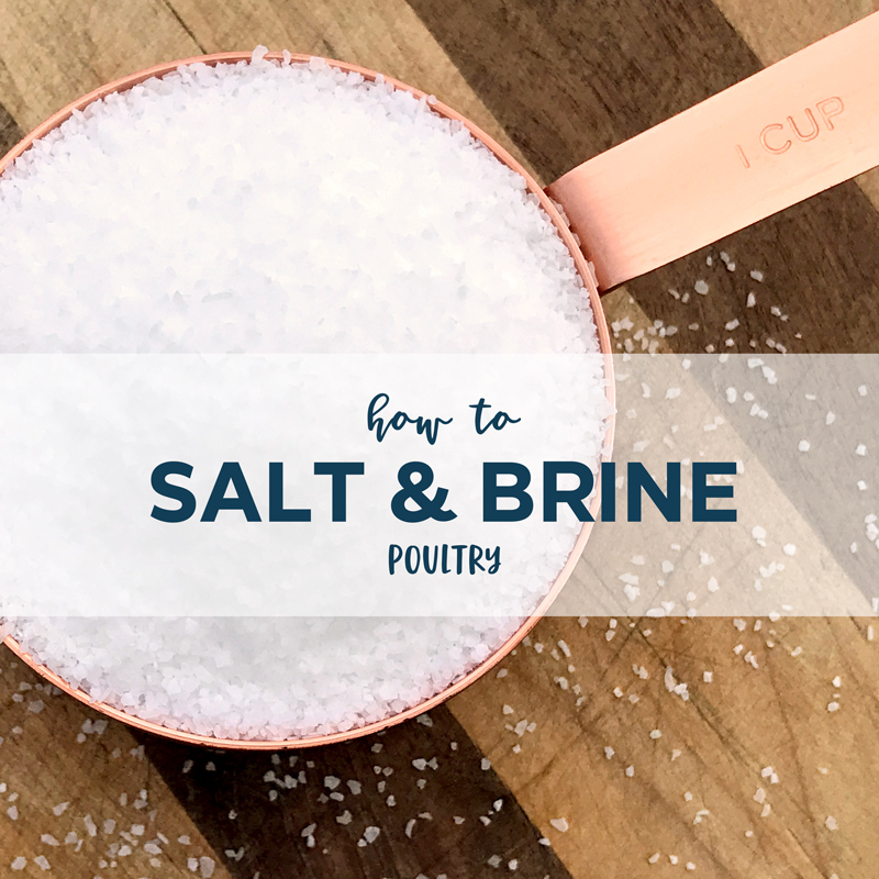 How to Salt & Brine Poultry  |  Home Again Creative