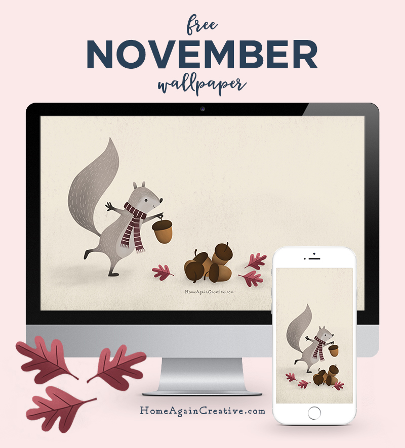 Free November Desktop Wallpaper | Home Again Creative