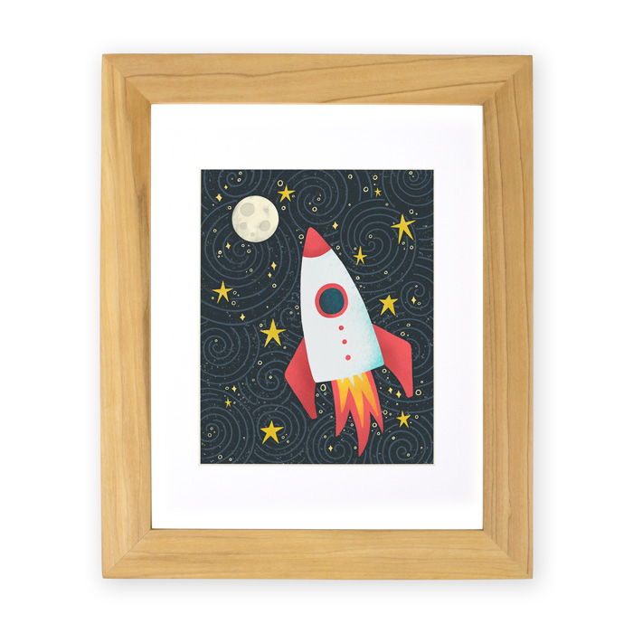 Rocket to the Moon | Home Again Creative