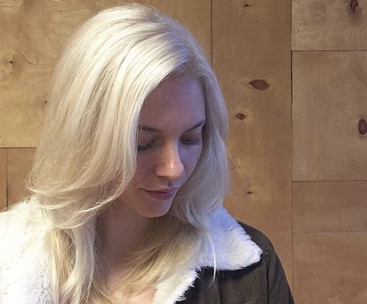 Icy blonde by Joanna