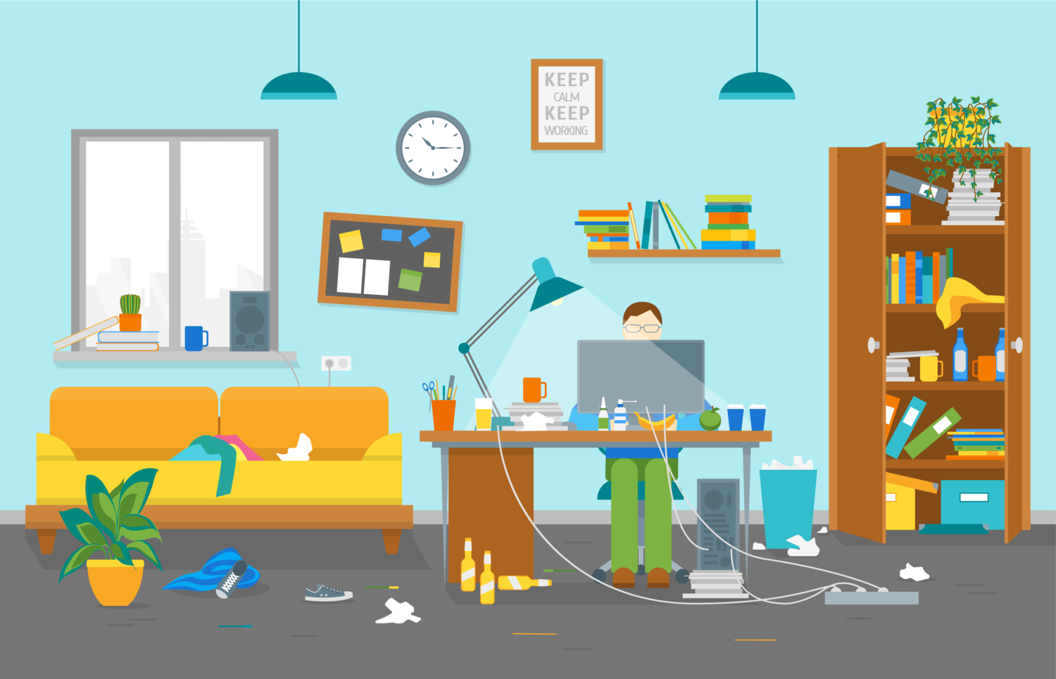 12 Things On Your Work Desk That Are Making You Look Unprofessional