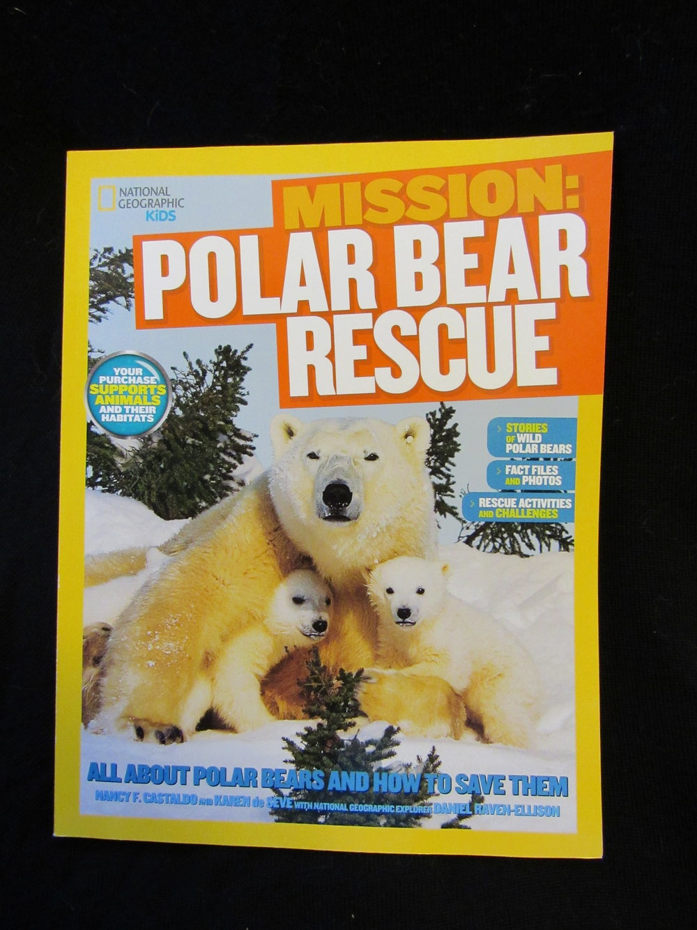 National Geographic Kids Mission Polar Bear Rescue The Alaska Zoo T Shirt Adventure