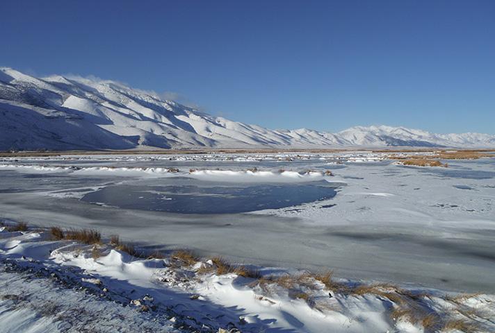 Ruby Lake. Photo from fws.gov.