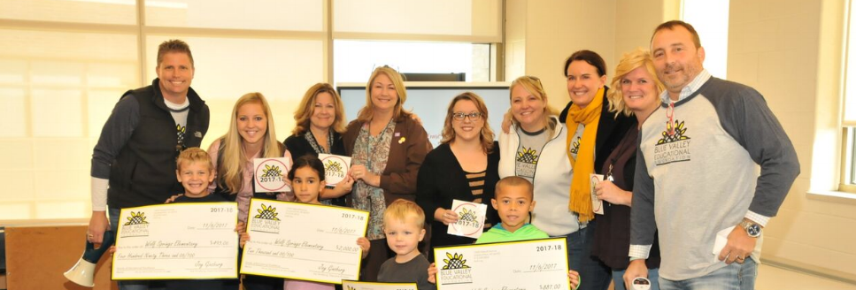 Wolf Springs Elementary received FOUR teacher grants in their opening year!