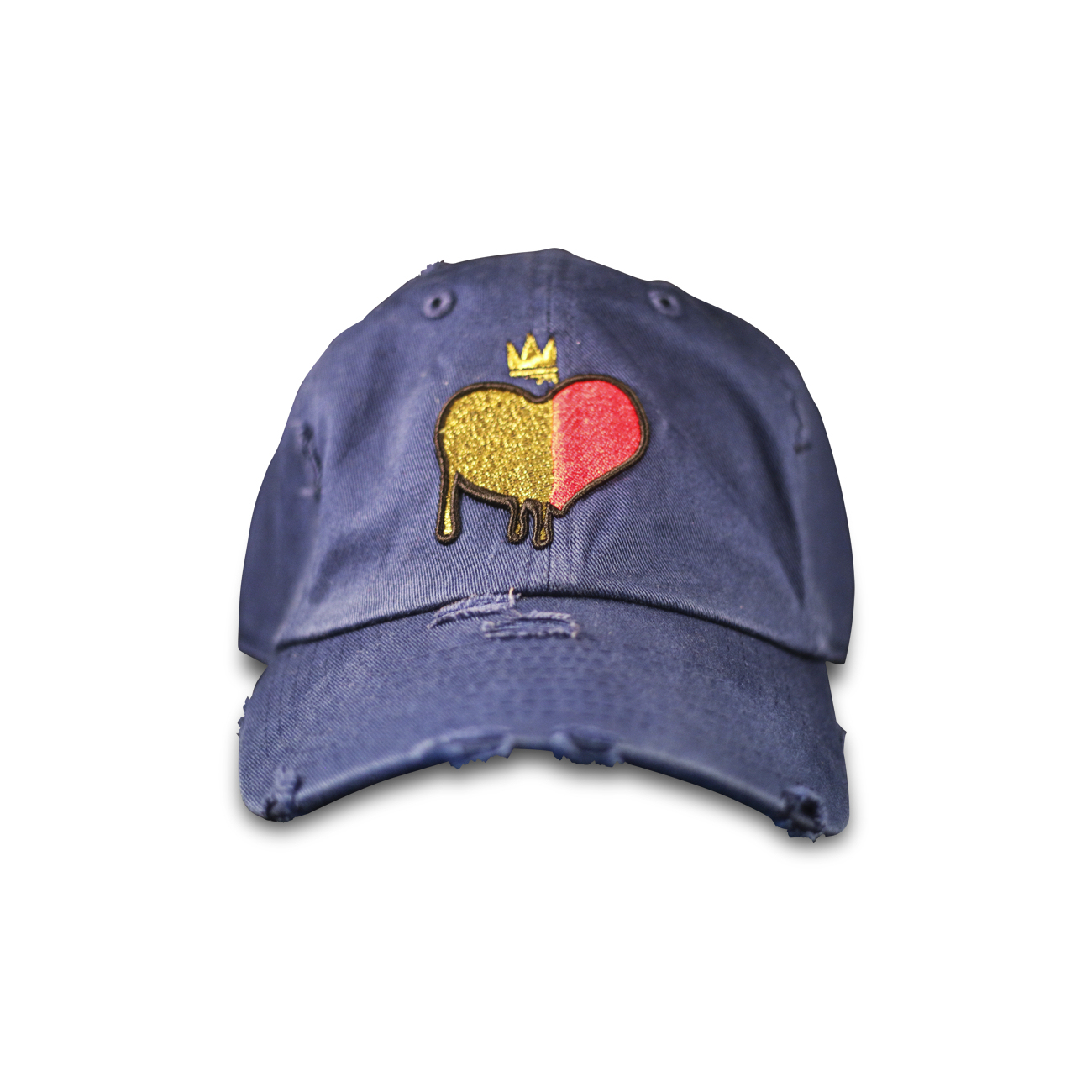 Indigo. Blue Gold Blooded Hat.jpg 5fc1900bf20