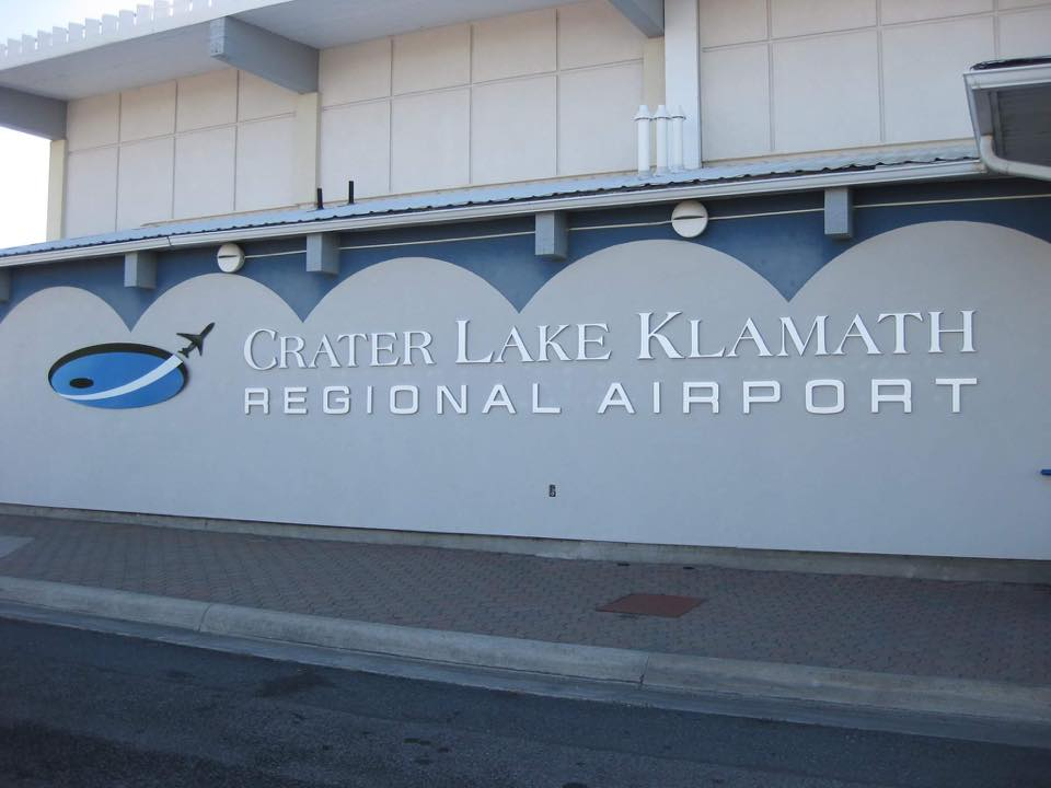 Crater Lake Klamath Regional Airport - File Photo