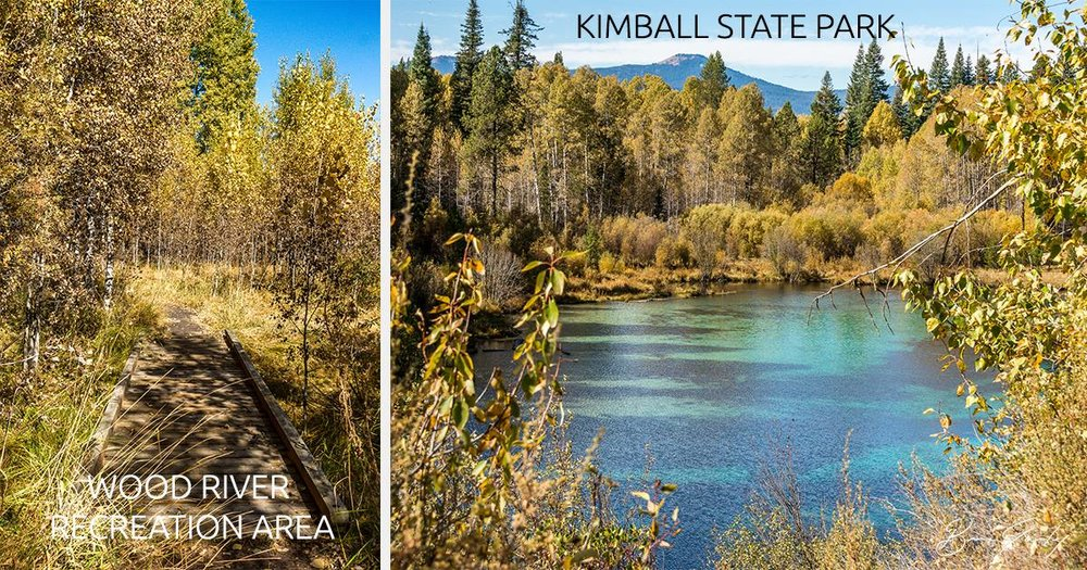 Fall Colors in Fort Klamath - Images: Brian Gailey