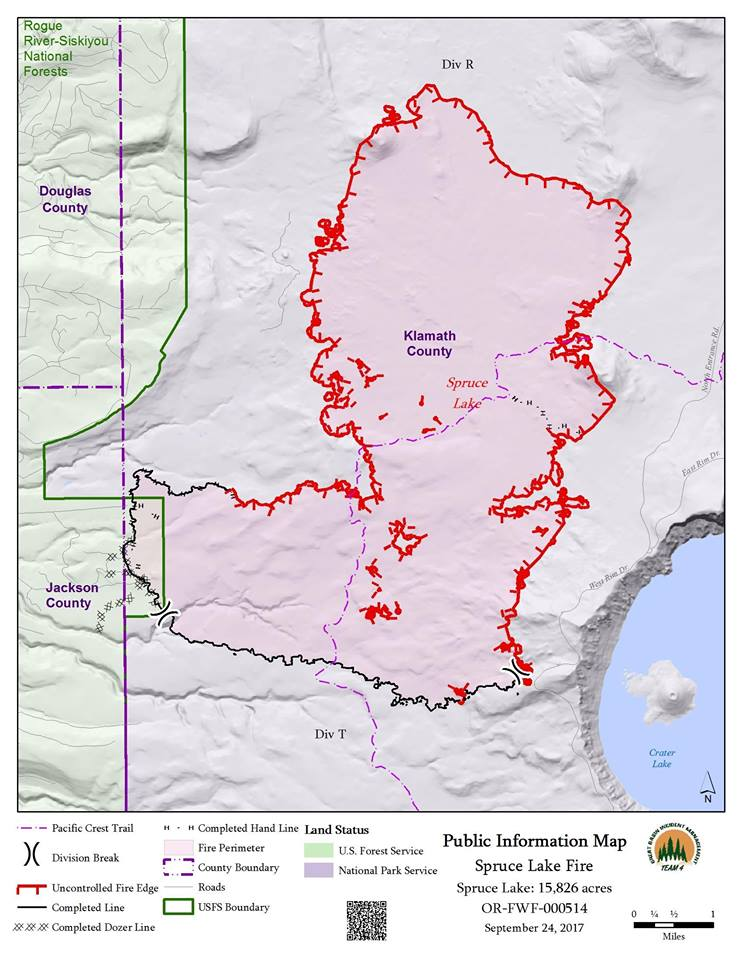 PIO Map Spruce Lake Fire (Inciweb)