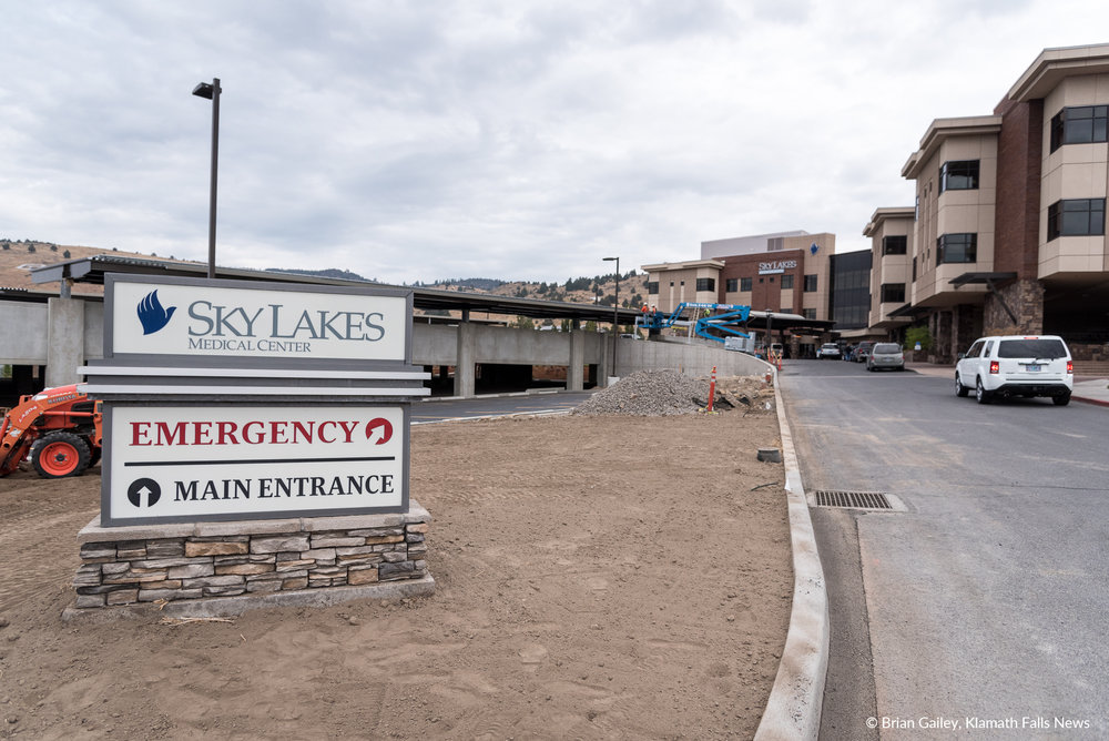 Sky Lakes Medical Center opened new parking garage (Brian Gailey)
