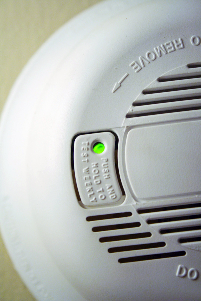 Smoke Detector ( Alachua County , Flickr)