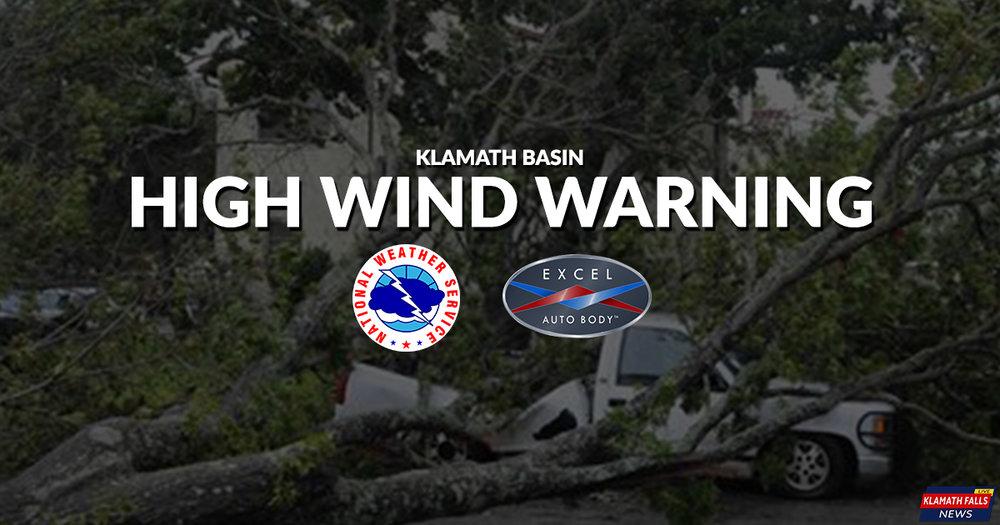 High Wind Warning - November 7, 2017