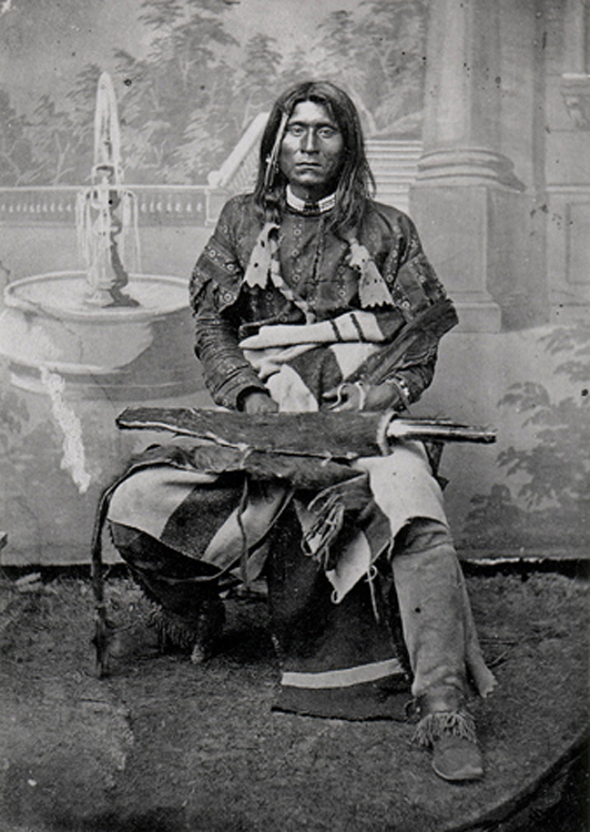 Kientpoos, also known as Captain Jack, was the target of a government attempt exterminate the Modoc people, according to author Robert McNally.  (Klamath County Museum)