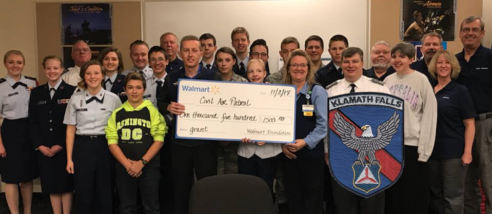 CAP Receives a grant from the WalMart Foundation (Submitted Photo)
