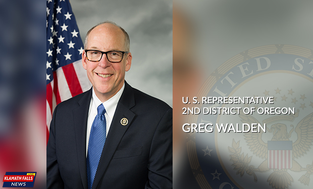 Greg Walden, US Representative for the 2nd District of Oregon.