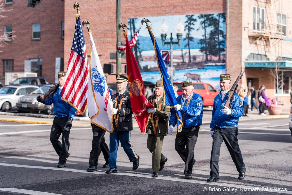 Veterans Day Parade, Klamath Falls, Ore. (Brian Gailey)
