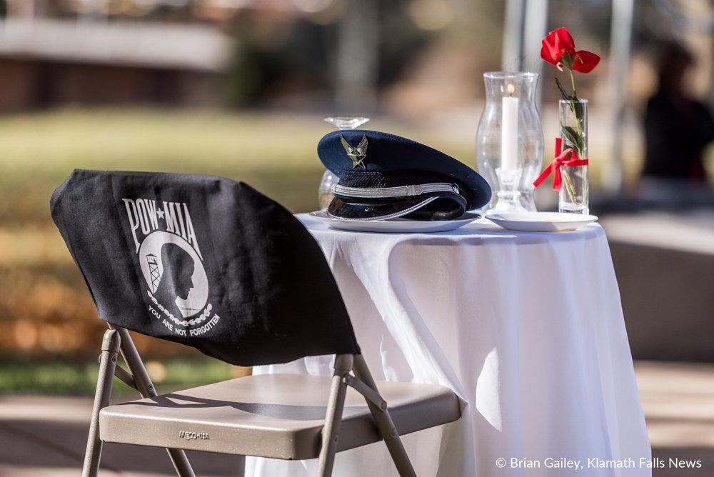 Veterans Day in Klamath Falls (2017) Image by Brian Gailey
