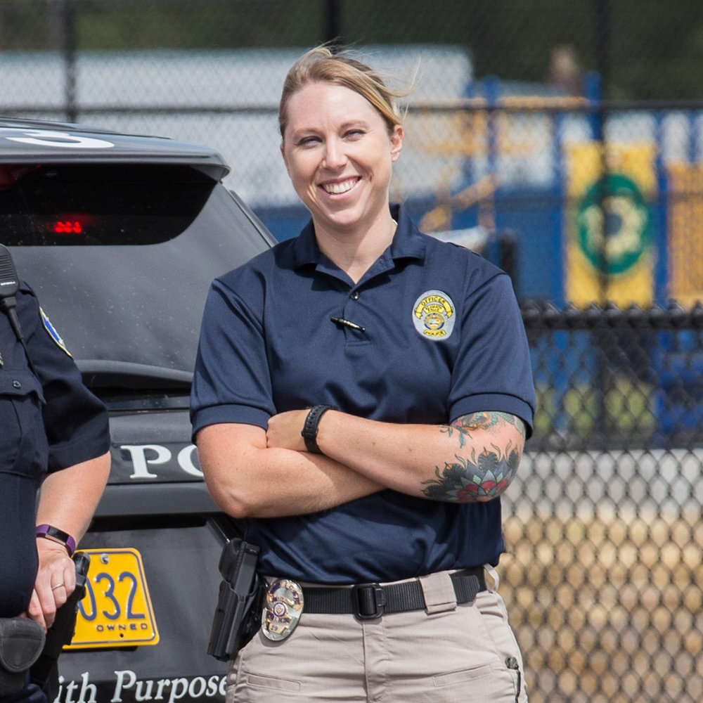 Officer Taylor Herbst, Klamath Falls City Police Department (Image by: Chuck Collins)