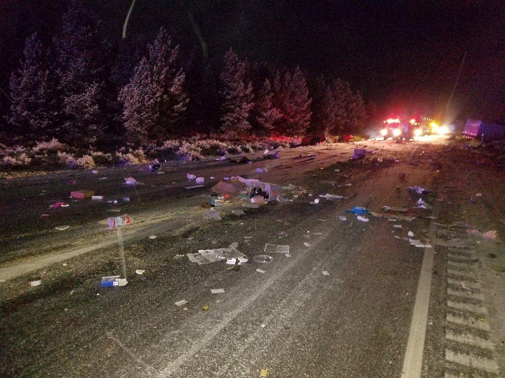 Highway 97 Fatal Collision, Klamath County Dec 3, 2017 (Oregon State Police)