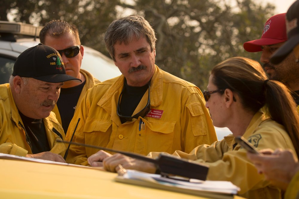 Branch, Operations and Safety Briefing Thomas Fire, California (Inciweb)