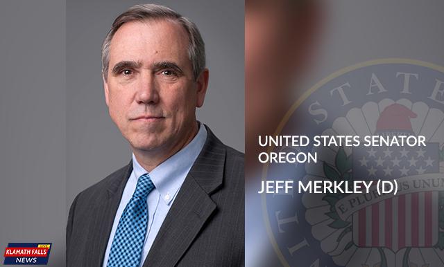Jeff Merkley (D), United States Senator,Oregon.