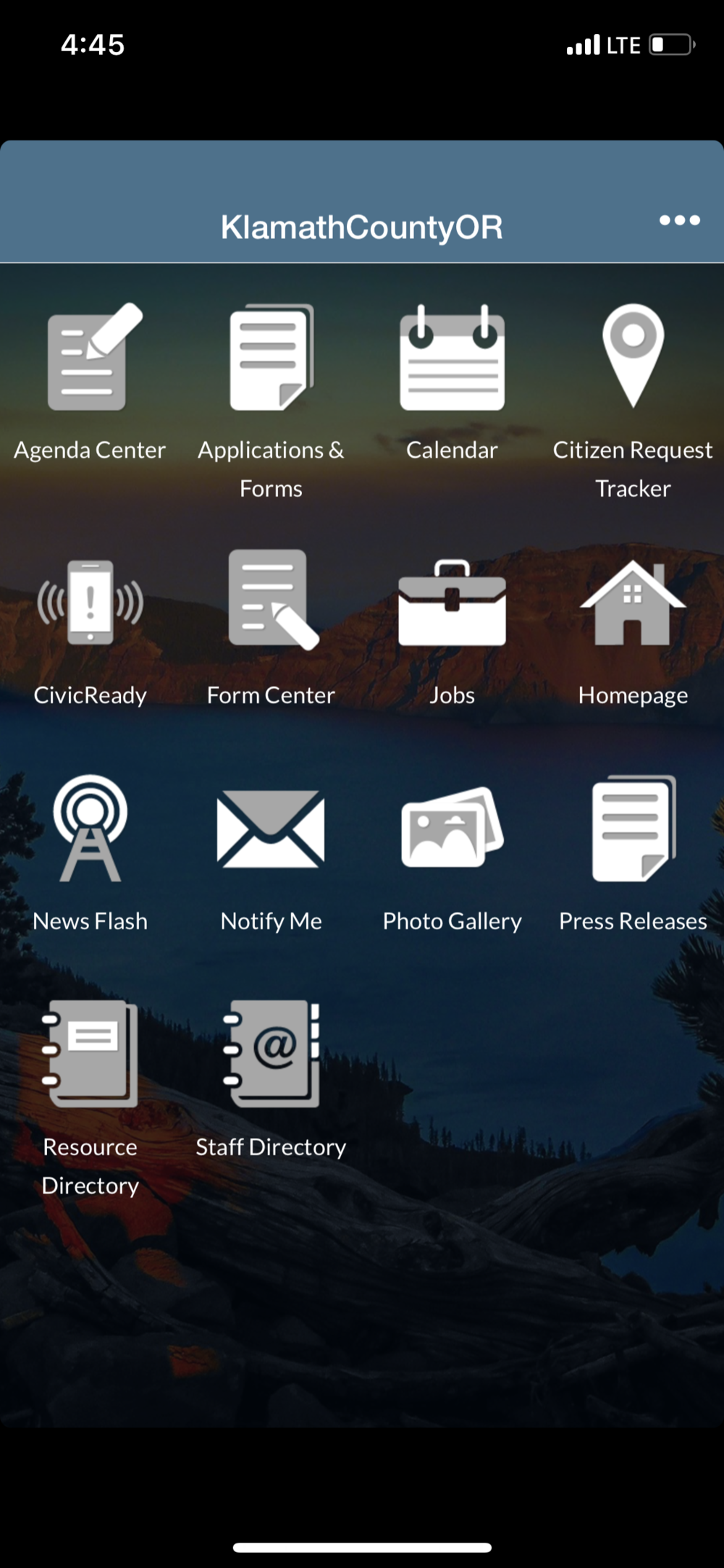 Klamath County Civic Ready on iOS