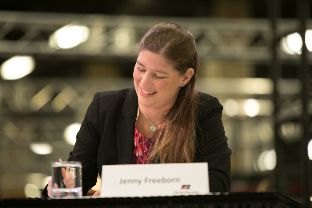 Jenny Freeborn is chair of the Oregon Farm Bureau Young Farmers & Ranchers Committee. In December Freeborn won the state Discussion Meet, which earned her the chance to compete at the national level. (Submitted Photo).