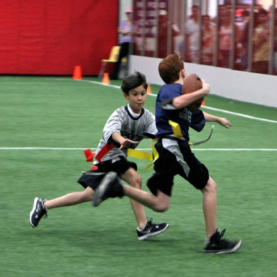 Youth Flag Football Archery Tag (https://www.facebook.com/mikesfieldhouse/)