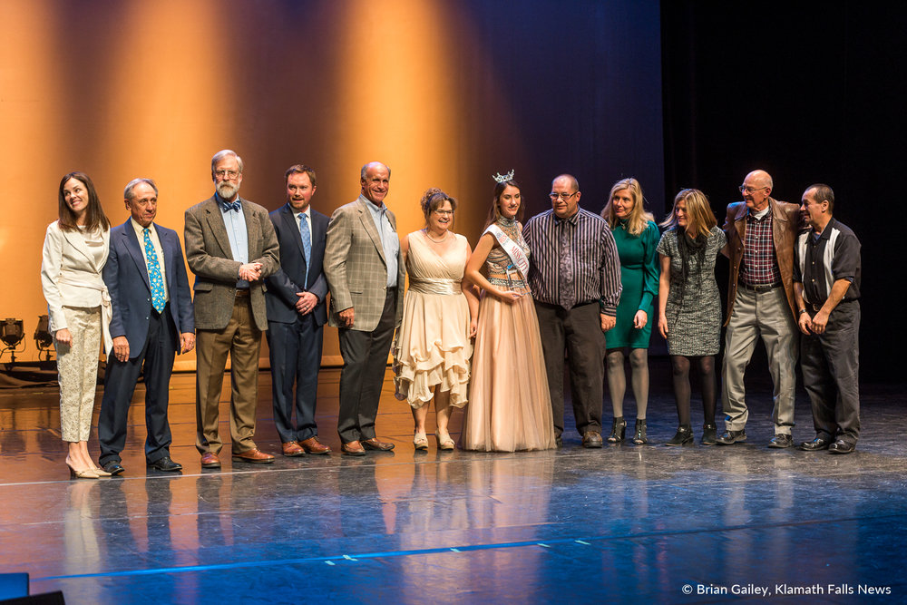 Klamath Works and their dedicated team fighting poverty by putting people to work earned the Big Idea Innovation Award.  97th Annual Chamber Gala Awards. (Brian Gailey)