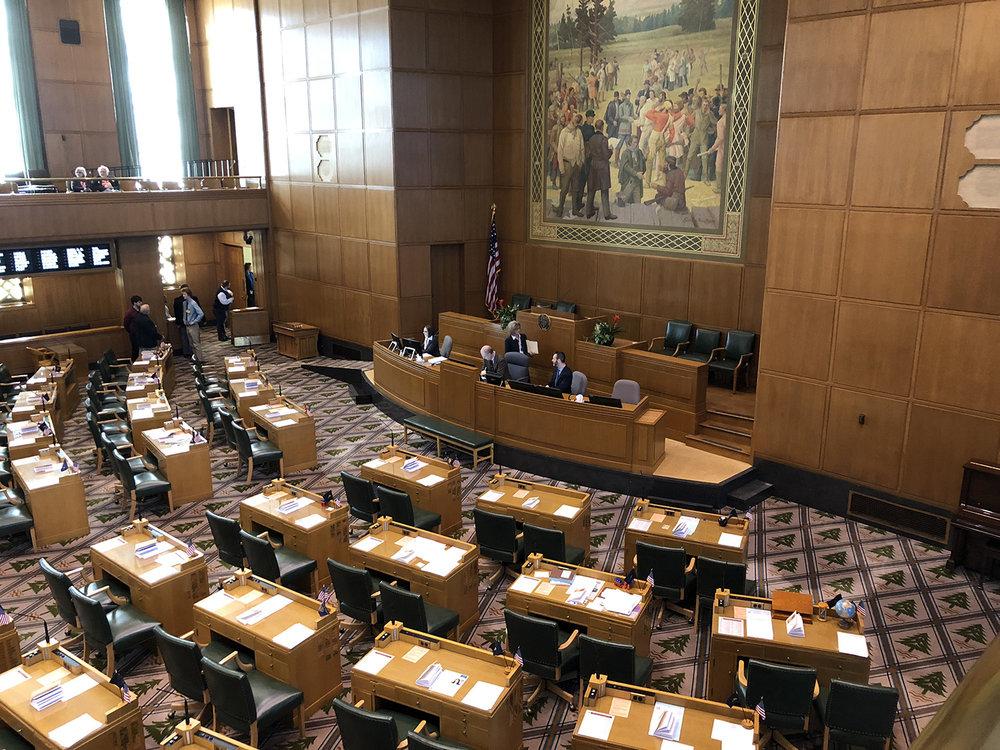 File Photo - Oregon House of Representatives (Brian Gailey)