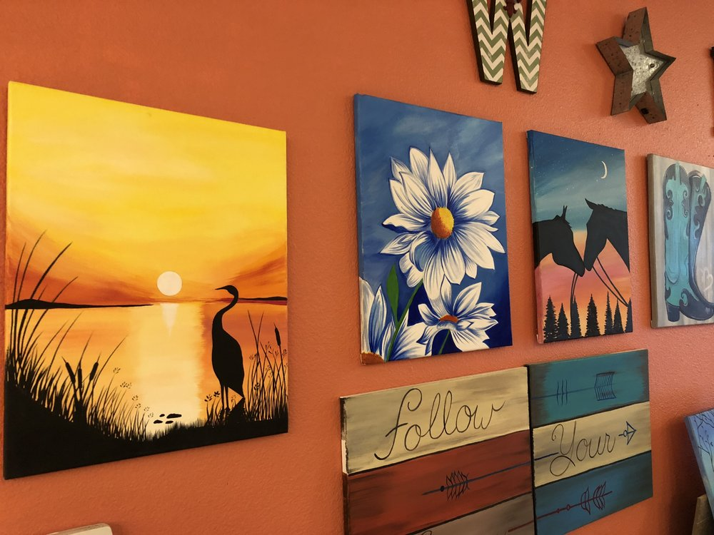 Wild Pigments Art Studio, Downtown Klamath Falls. (Brian Gailey)