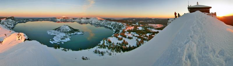 Winter Panoramic, CLNP (National Parks Service)