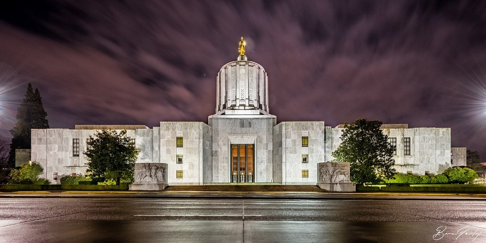 File Photo, Oregon State Capitol (Brian Gailey)