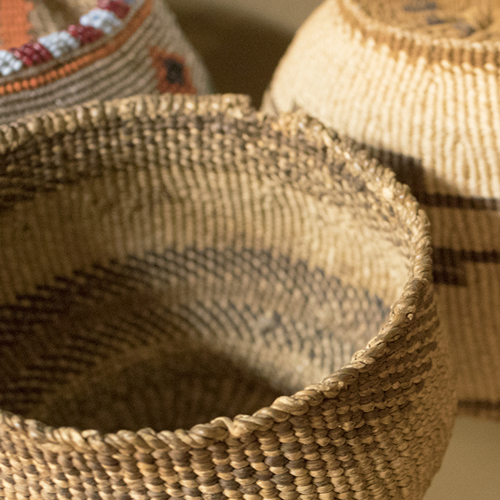 Intricate basketry