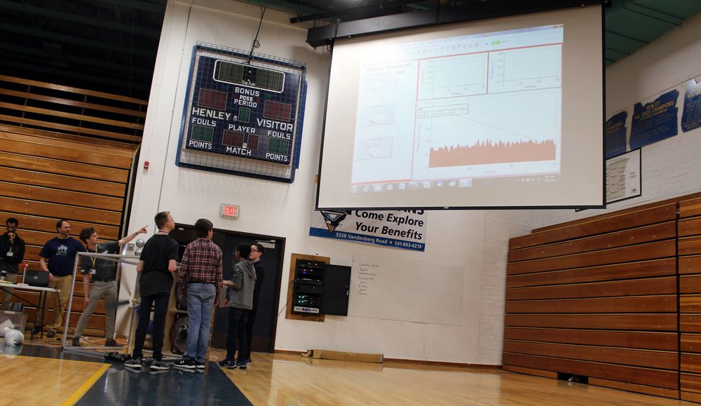 In the middle school division, students from Henley Middle School and Brixner Junior High School competed in the  KidWind Project Challenge on Saturday, March 10. (Samantha Tipler, KCSD)