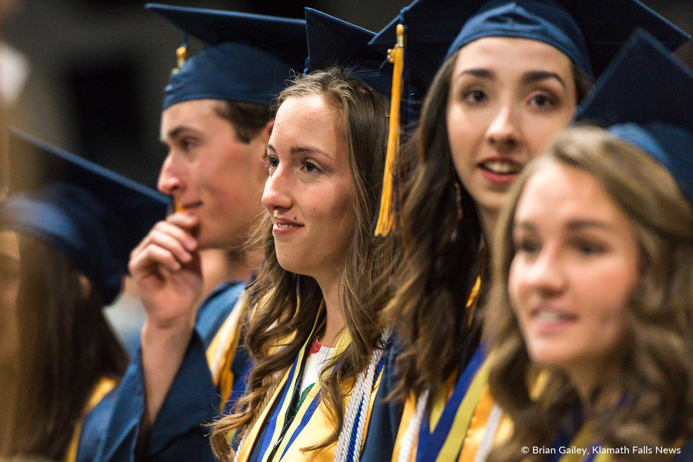 Henley High School Graduation, Class of 2018. June 10, 2018 (Brian Gailey).
