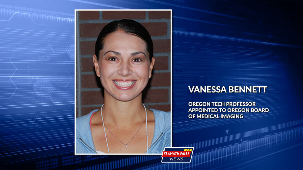 Vanessa Bennett's role on the Board will include a 3-year commitment to work with other members to address issues that affect policies, procedures and requirements for technologists throughout the state.