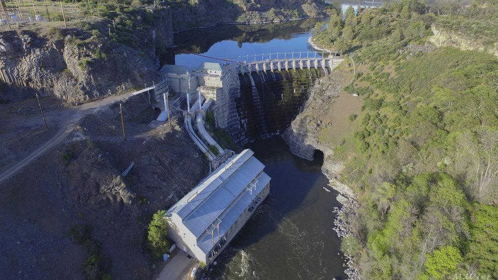 Copco 1 Dam (Image Michael Wier / CalTrout)