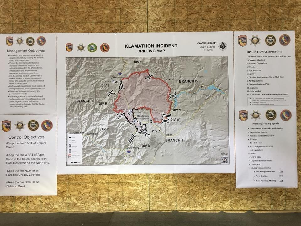 Klamath Falls News Wildfire Update Klamathon Fire Pm Update July